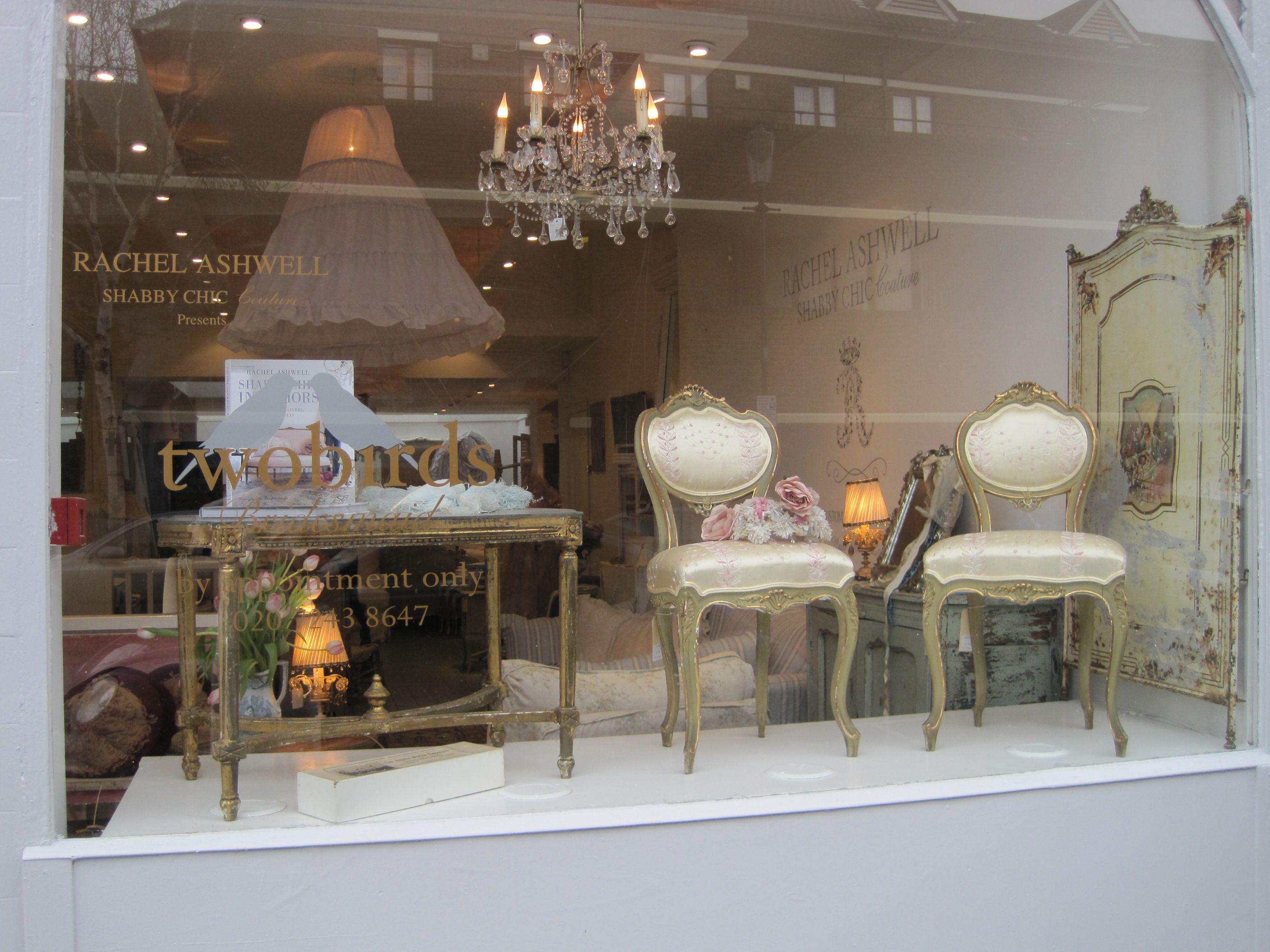 Rachel Ashwell Shabby Chic Couture Store, London