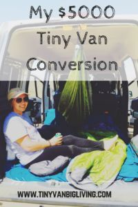 My 5000 Tiny Van Conversion The Complete Cost Breakdown Vanny Devito Is Now