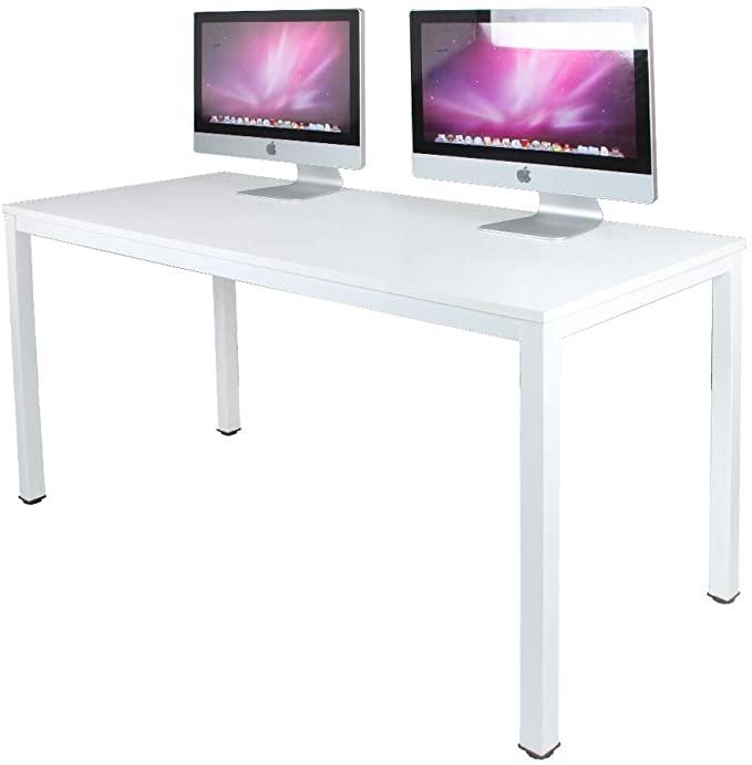 Amazon Com Sogesfurniture Computer Desk 63 Inches Large Size Office Desk Gaming Desk Computer Table With Bifma In 2021 Large Office Desk Office Desk Work Station Desk