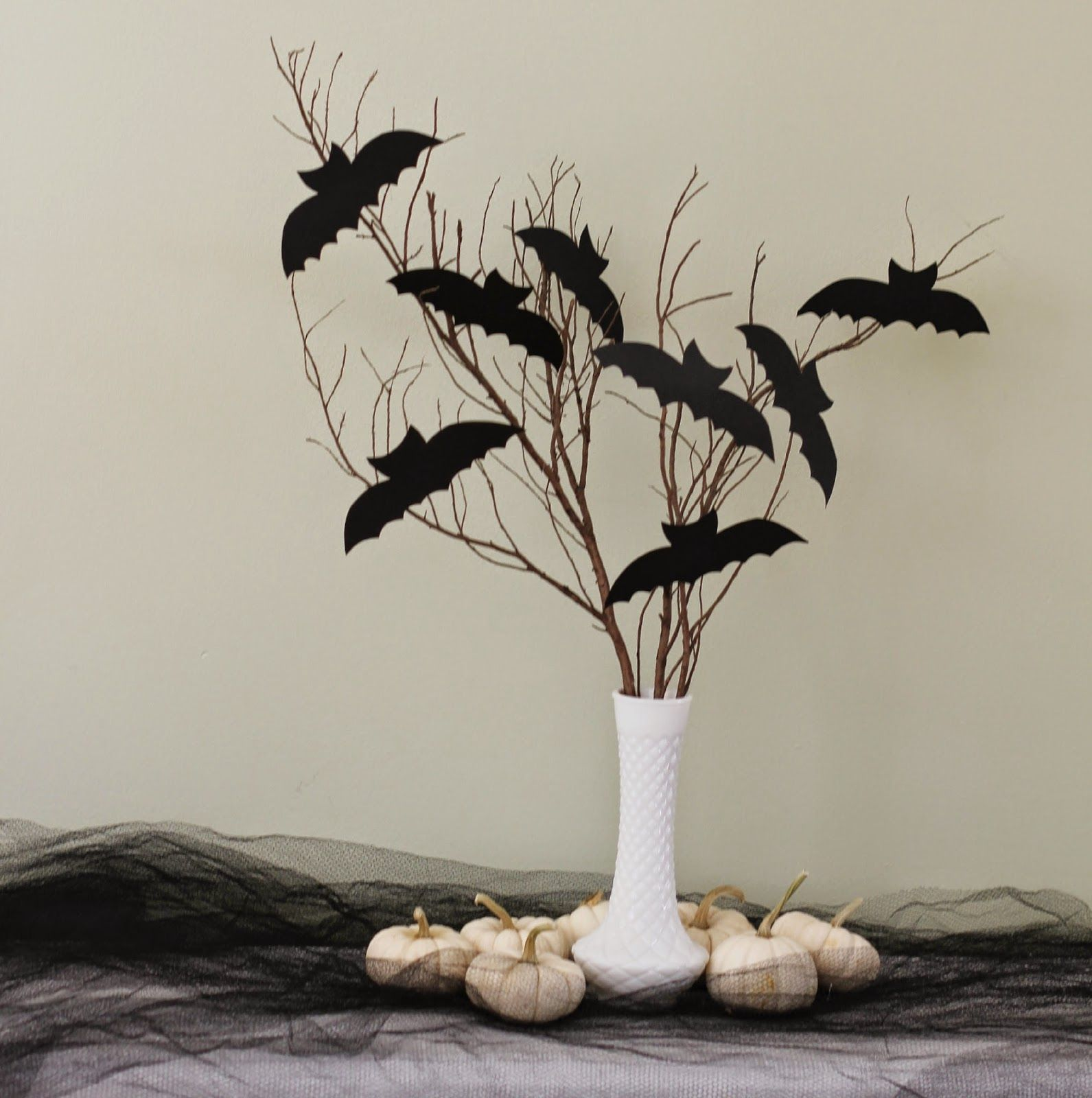 halloween tree diy - Google Search Willow Way Pinterest - halloween tree decoration