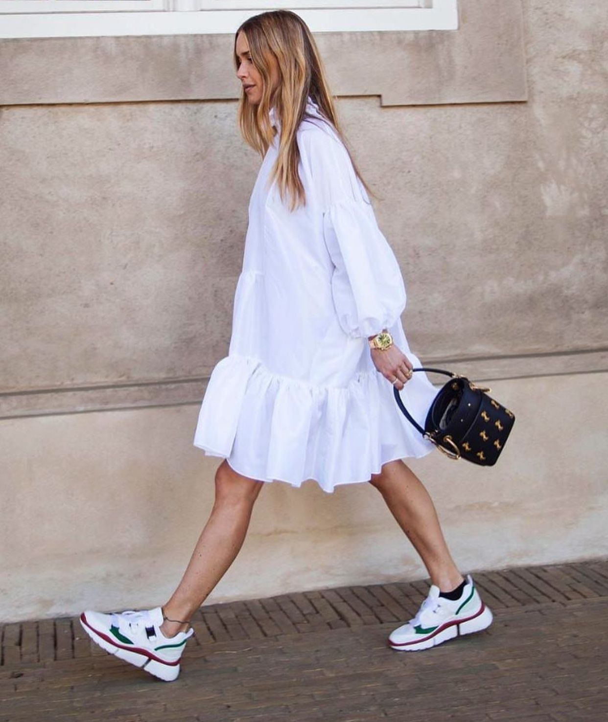 Street style dress
