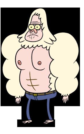 Skips Regular Show Cartoon Network Characters Cartoon