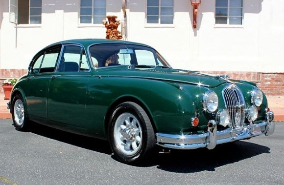 1964 Jaguar MkII Sedan British Racing Green, Great Color!