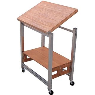 Oasis Concepts Textured Hardwood Flip And Fold Kitchen Island   Overstock™  Shopping