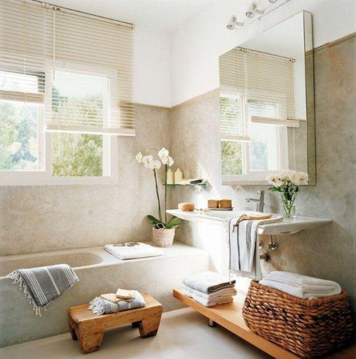 Beaucoup du0027idées en photos pour une salle de bain beige Feng shui