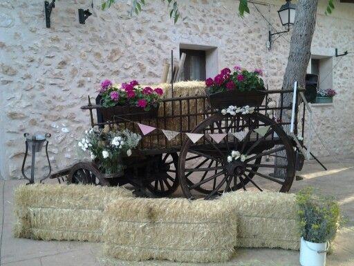 Decoracion boda vintage jardines finca casa de lujan lola david wedding pinterest - Decoracion boda en casa ...