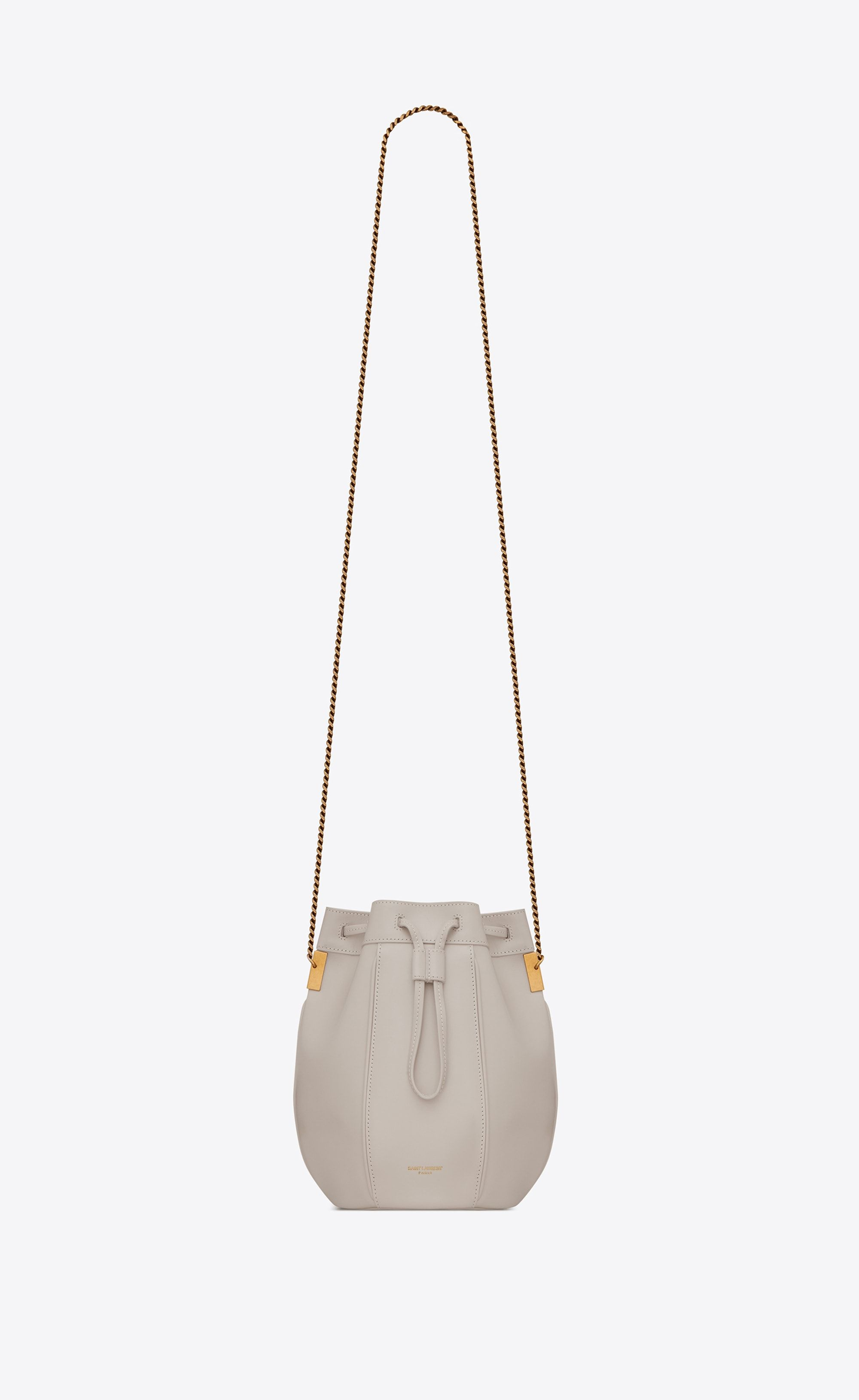 Saint Laurent TALITHA Small Bucket Bag In Smooth Leather  ef1051be7e5a0