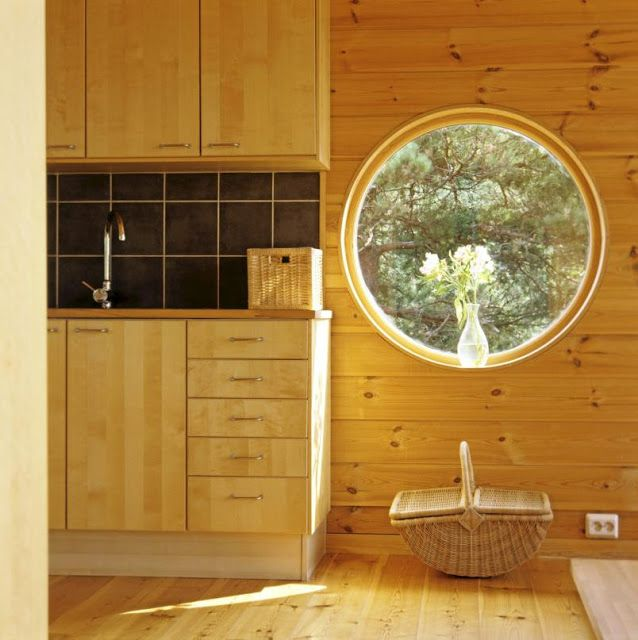 scandinavian retreat.: Norwegian cabin