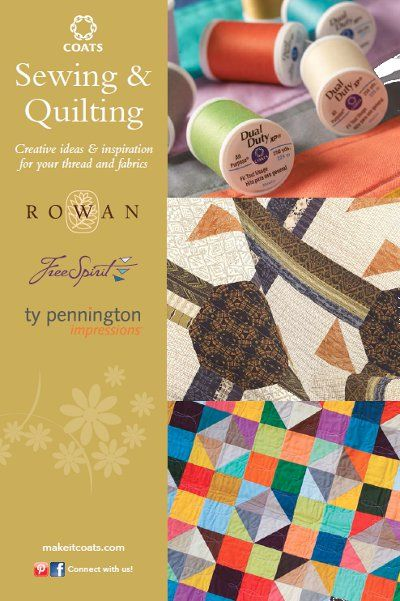 How to Quilt like a Designer: Coats & Clark Sewing and Quilting Inspiration | AllFreeSewing.com