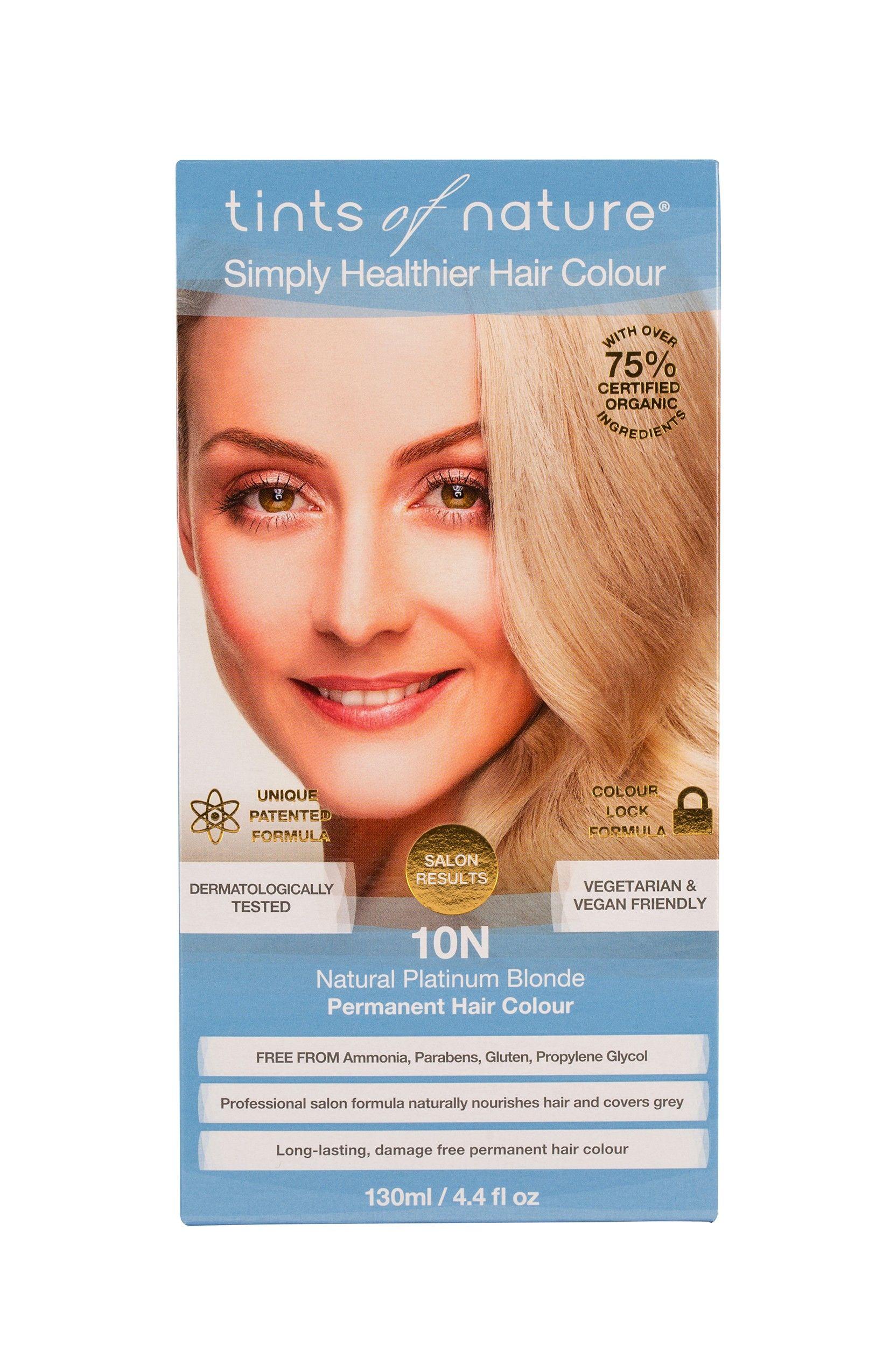 10n Natural Platinum Blonde Permanent Hair Colour Cruelty Free