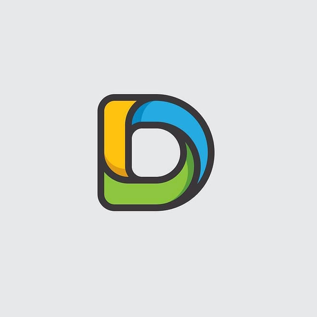 Logo Place On Instagram Letter D Logo Idea Design Made By Dandragomir Logoplace Logo Place Love Design Graphic Designer Logo Design Logos App Logo