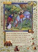 St. Eligius, patron saint of horses