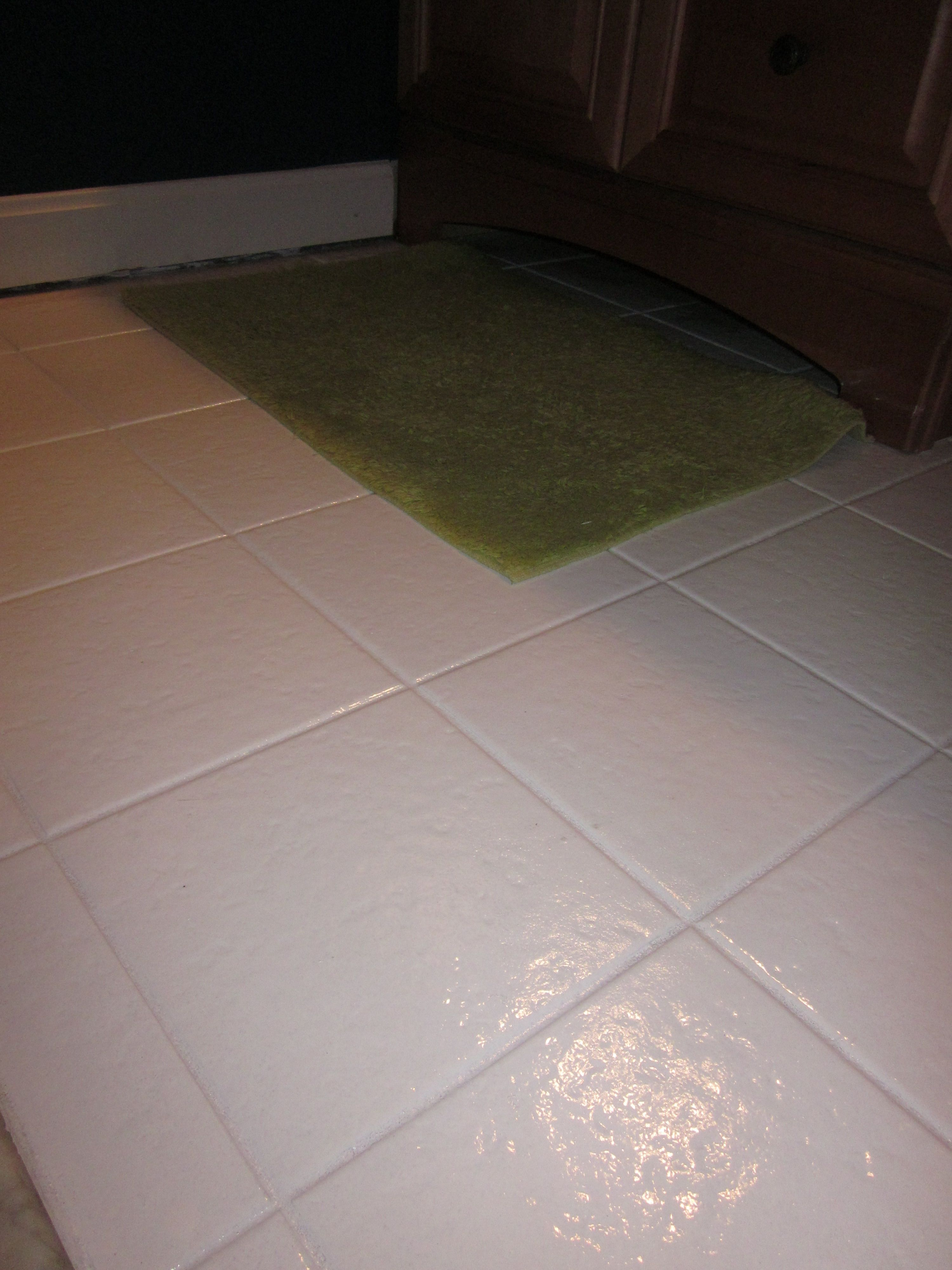 My first post painted tile tile flooring painted tiles and house my first post painted tile painting tile floorspaint dailygadgetfo Choice Image