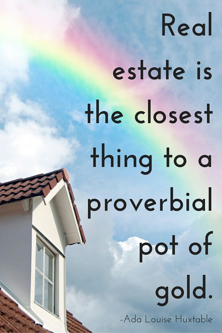 Inspirational quote about the value of home owning, a