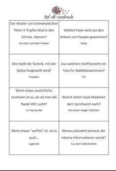 Das große Handarbeitsquiz: Mit 50 kostenlosen Rätselkarten ...