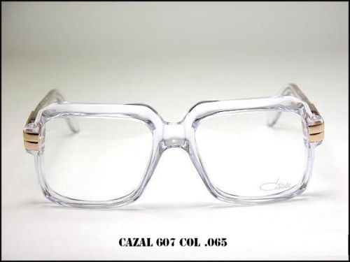 e47577be65 NEW-CAZAL-607-065-EYEGLASSES-LEGEND-VINTAGE-CRYSTAL-CLEAR-100-AUTHENTIC