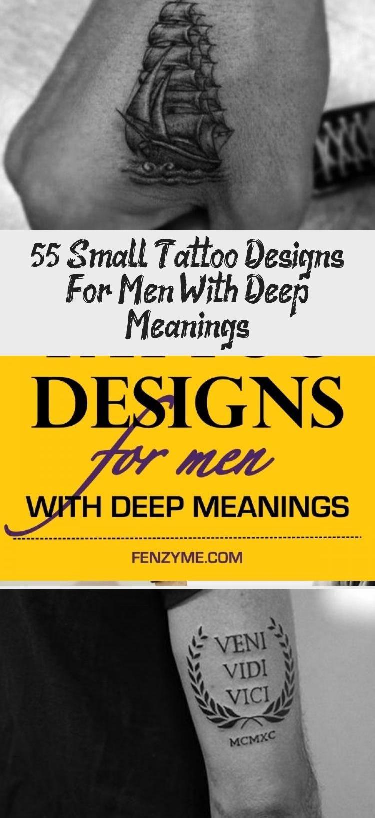 Photo of Kleine Tattoo Designs für Männer mit tiefen Bedeutungen #Sistertattooideen #tattooideenB …