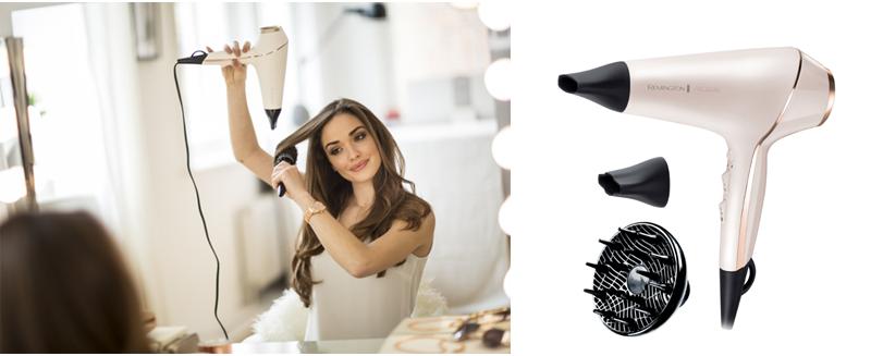 Die neue REMINGTON® PROluxe Haarstyling-Serie für besonders lang anhaltende Styling-Ergebnisse! Jetzt testen bei den Konsumgöttinnen.