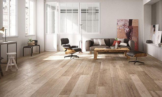 Carrelage imitation parquet bois cadore baita for the for Carrelage imitation parquet noir