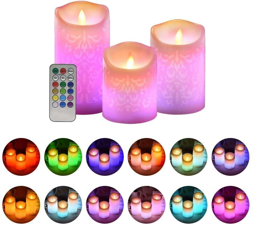 9 Flameless Candles That Look Just Like The Real Thing But Are Way Safer In 2021 Fake Candles Led Pillar Candle Flameless Candles Fake candles that look real