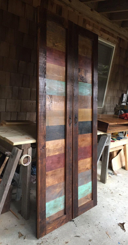 Deux Ferme Rustique Grange Porte Pour Pantry Porte Grange Decoration Et Renovation Portes Coulissantes De Grange