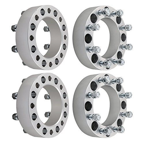 4pcs 2 Ford 8x170 Wheel Spacers 8 Lug For M14x20 Studs 19992004 F250 F350 Trucks You Can Find More Details By Visiting Th Truck Accessories F350 Car Wheels