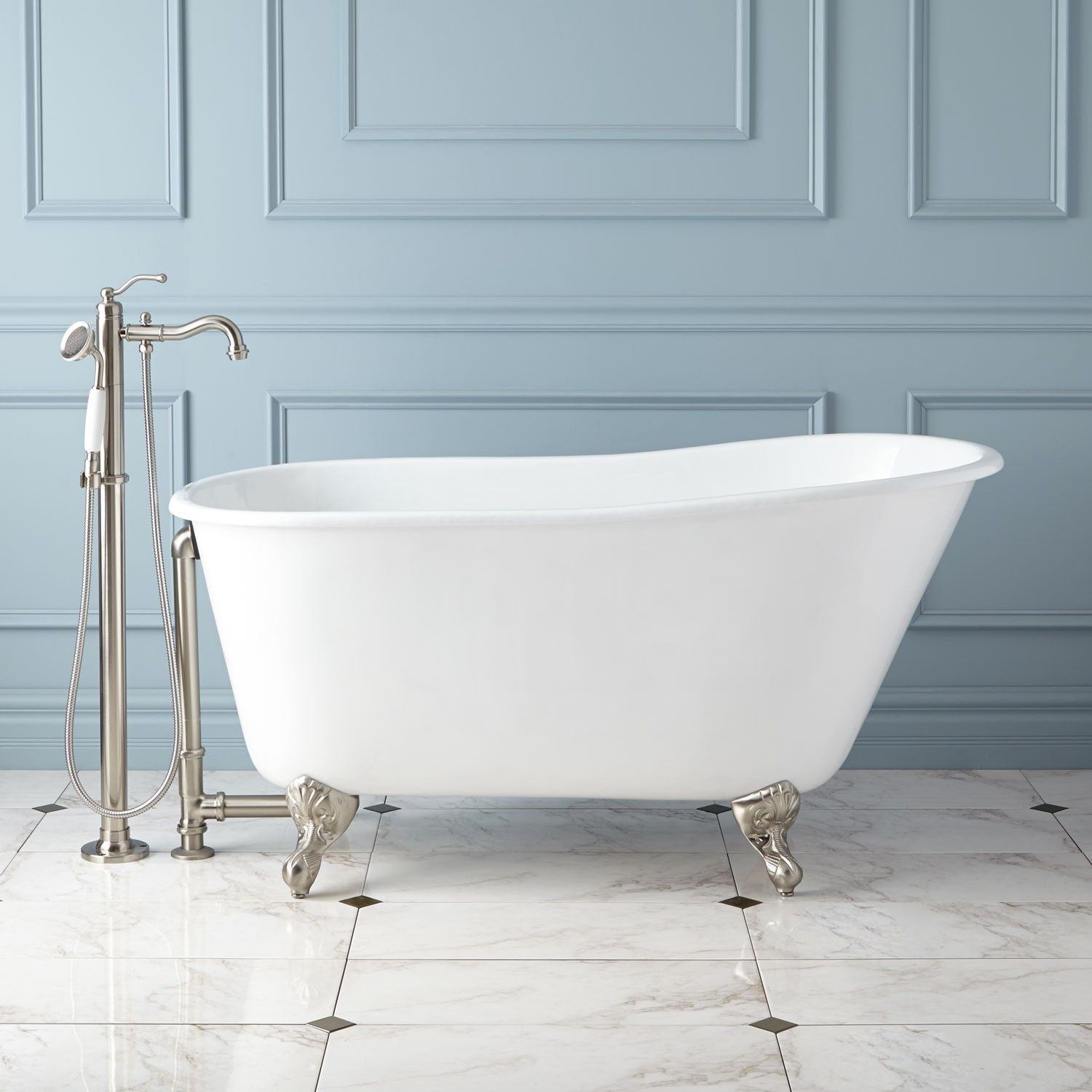 Carine Cast Iron Slipper Clawfoot Tub | Tubs, Iron and Clawfoot tub ...