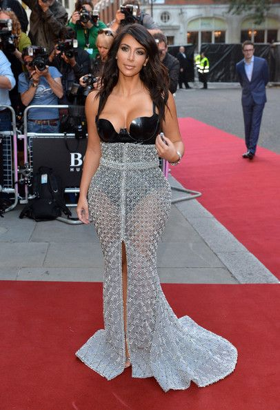 Kim Kardashian Best Red Carpet Dresses | Around the world ...