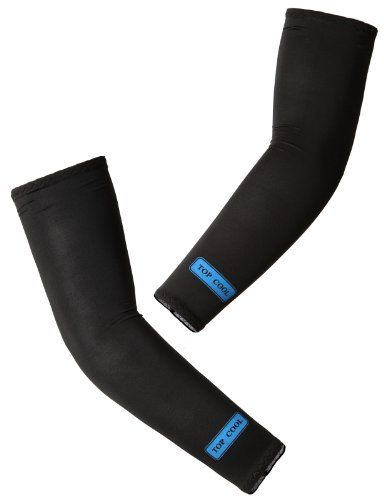 H2h Sport Unisex Compression Fit Cooling Arm Sleeves Uv Protection