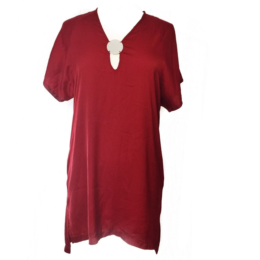 Sale firm price zara red shirt dress red shirt dress and products