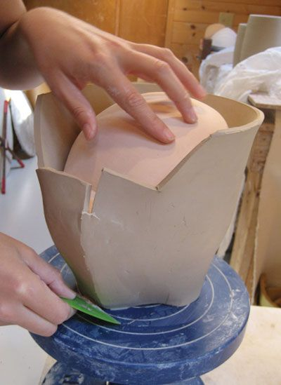 For The Birds How Deborah Schwartzkopf Uses The Pottery Wheel Combined With Slabs And Molds To Create Her Avian Inspire Ceramic Art Pottery Techniques Pottery
