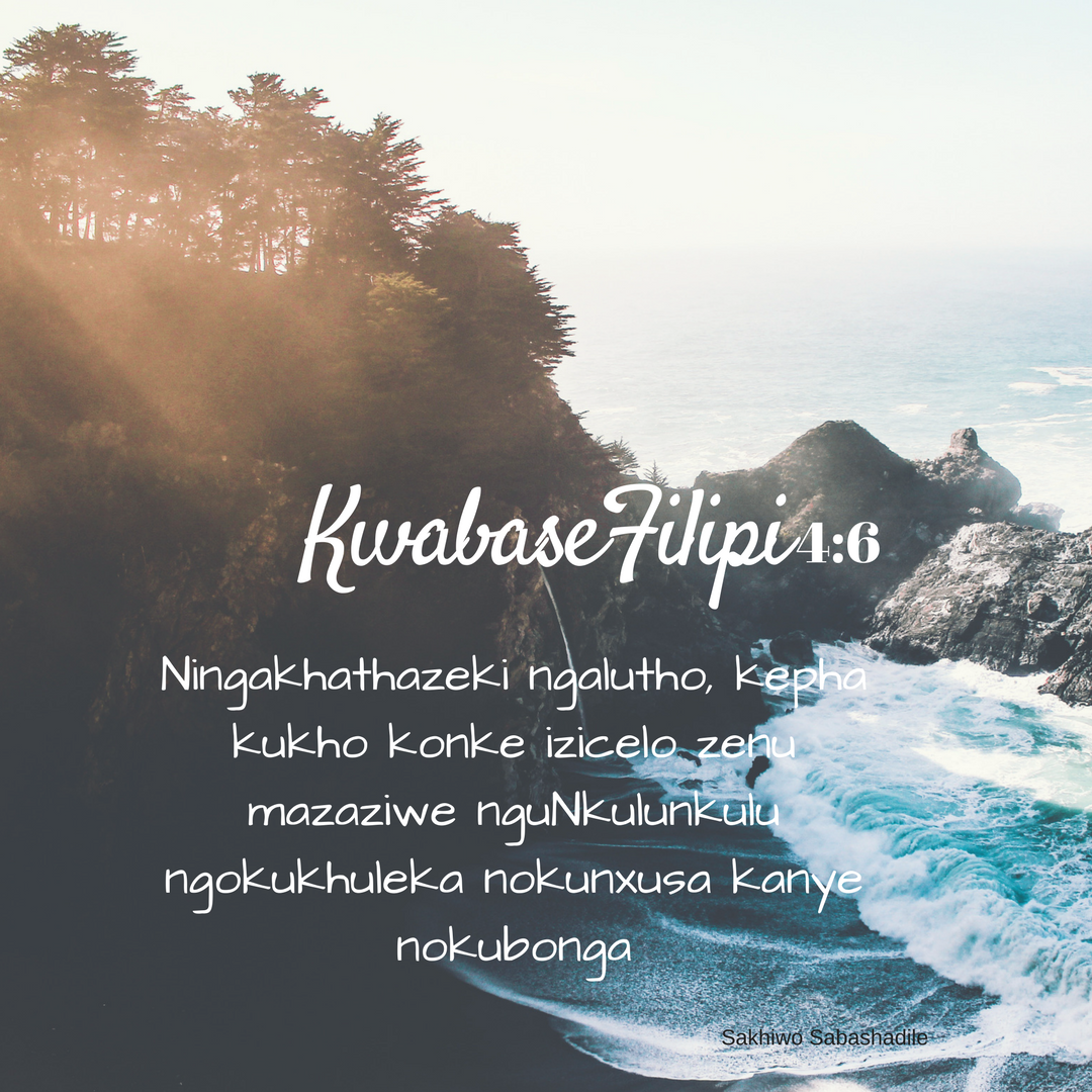 Pin on Zulu scriptures