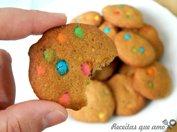 Cookies coloridos