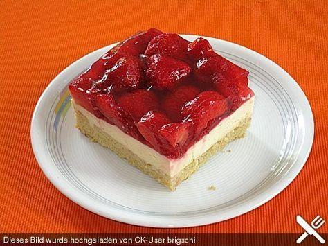 Erdbeerkuchen Erdbeerkuchen Rezept Erdbeerkuchen Und Chefkoch