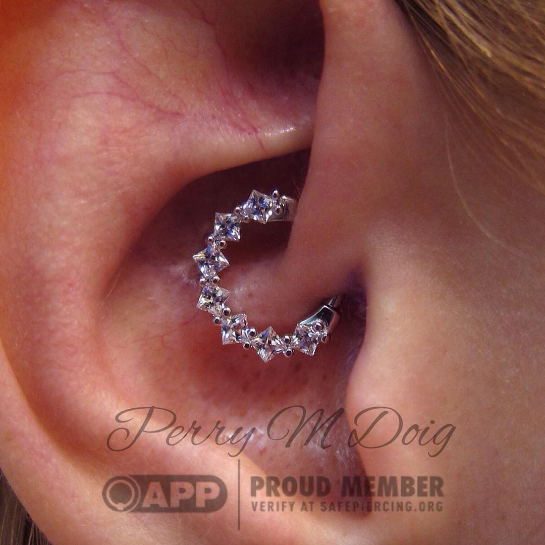 Nose piercing earrings  Daith Piercing u  Jewels for Jewels  Pinteu