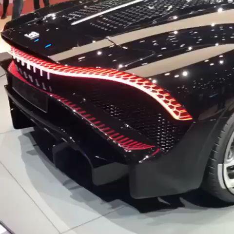 Photo of All-New Bugatti La Voiture Noire😎