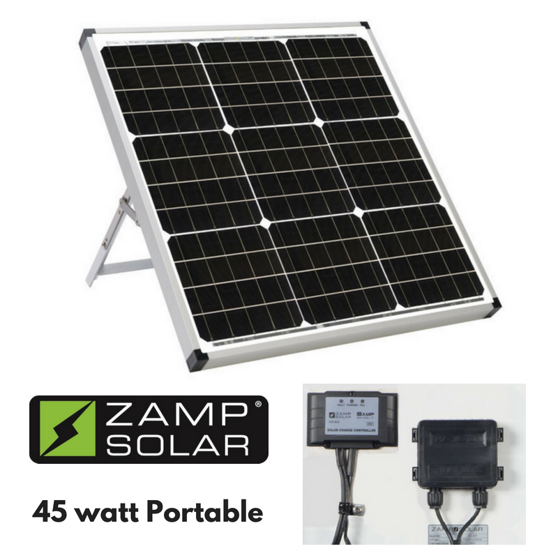 45 Watt Zamp Portable Solar Charging System Solar Panels Solar Energy System Solar
