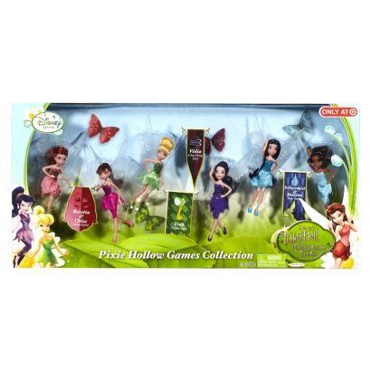 """Disney Fairies 4.5"""" Doll Pixie Hollow Games 6 Pack $29.99 ..."""