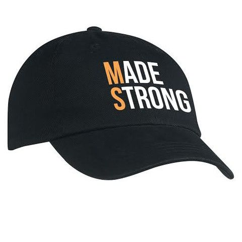 Made Strong (MS) Embroidered Cotton Chino Cap