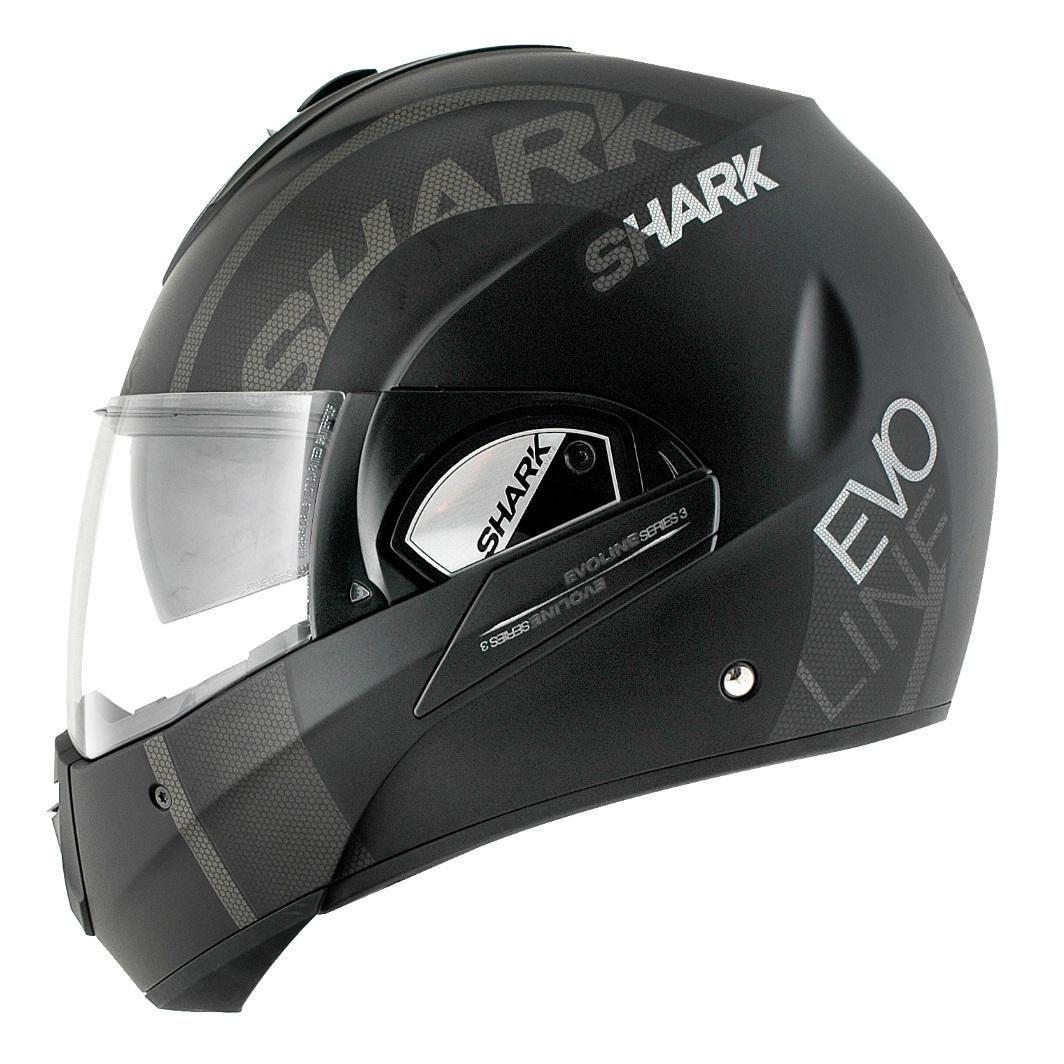 Shark Evoline 3 Drop Helmet Matt Black/Anthracite Online
