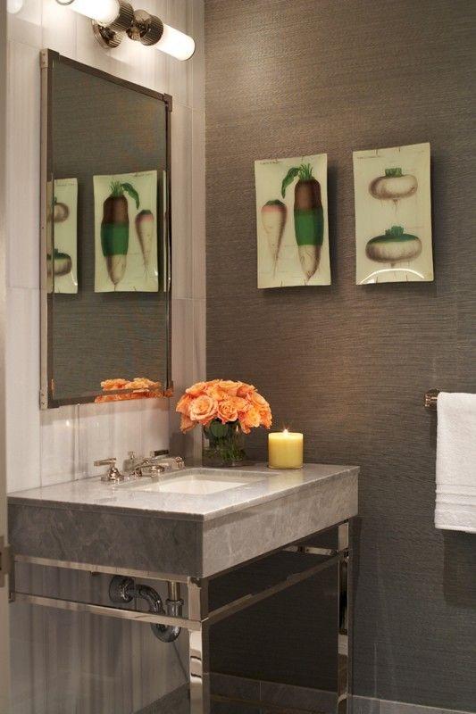 Designer Patrik Lonn Featured 48 Manila Hemp Color Graphite In Beauteous Apartment Bathroom Designs Model
