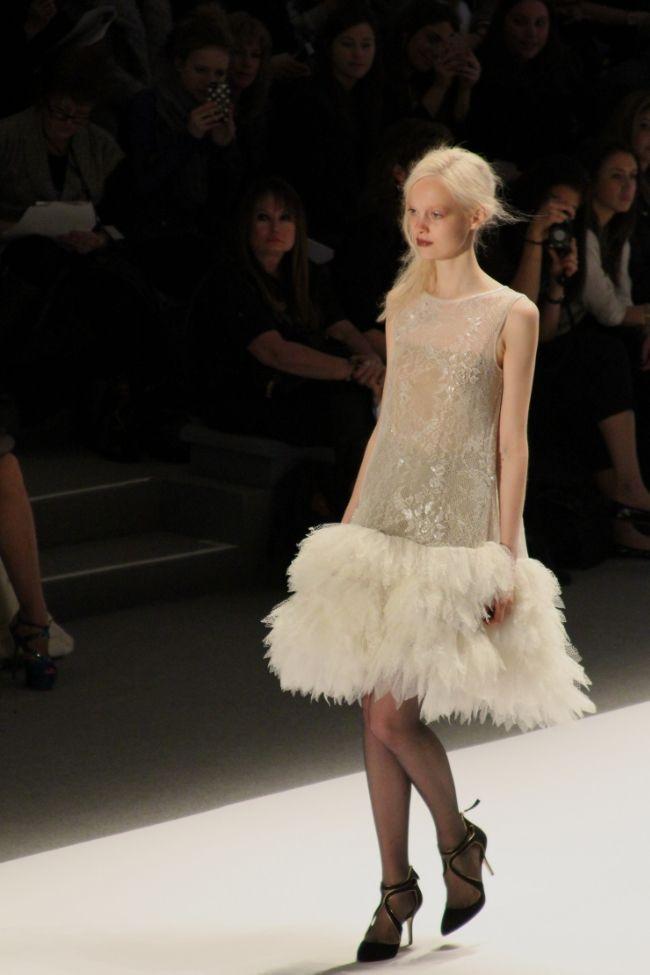 Tadashi Shoji Fall 2013 #runway #nyfw Mon Petit Chou Chou - Blog