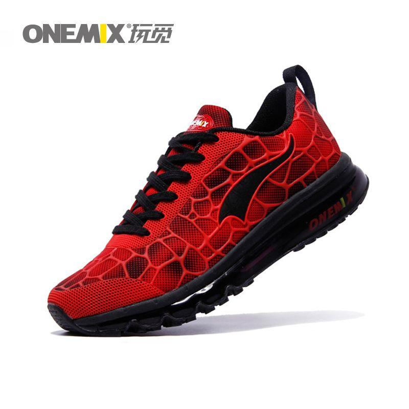 ONEMIX Hommes Chaussures de Course 7 Couleurs Coussin D'air Espadrilles  pour Hommes Free Run