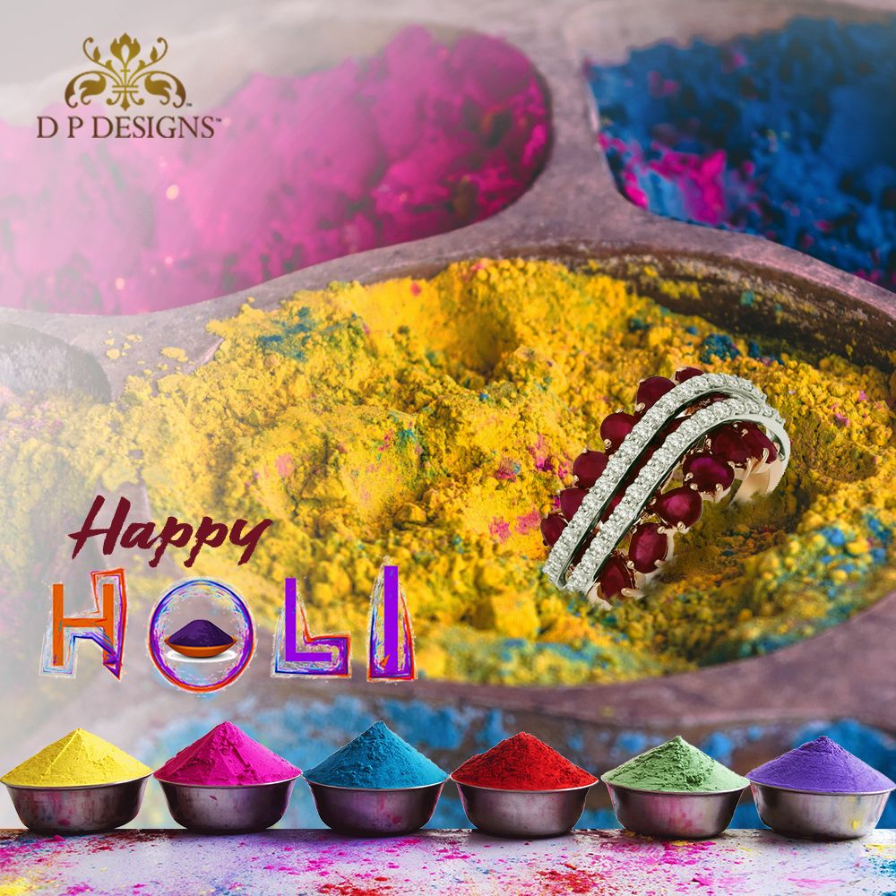 May this Holi bring lots of colorful days in your life filled with plenty of happiness and love.  Team DP design wishes everyone a very Happy Holi!!  #holi #happyholi #india #festival #holifestival #colors #colours #color #festivalofcolors #holifestivalofcolours #holihai #festivalofcolours #holifest #indianfestival #mumbai #colour #holiparty #wholesale #wholesalejewellery #diamond #diamondrings #diamondjewelry #diamondearrings #Diamondjewellery #diamondnecklace #jewellery #jewelry
