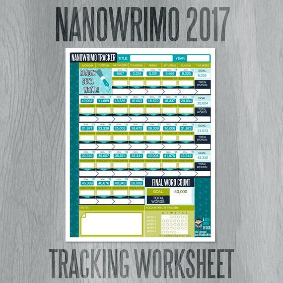 Want a super fun & functional place to track your NANOWRIMO progress ...
