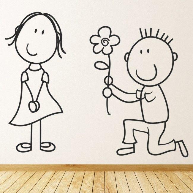 Photo of Marriage Proposal Wedding Wall Sticker