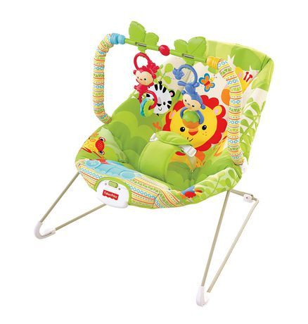 46f88c51819e Fisher-Price - Rainforest Friends Bouncer available from Walmart ...