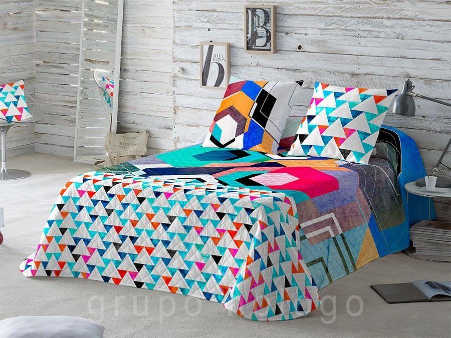 Twitter Don Textil   Colchas bouti, Decoracion de muebles