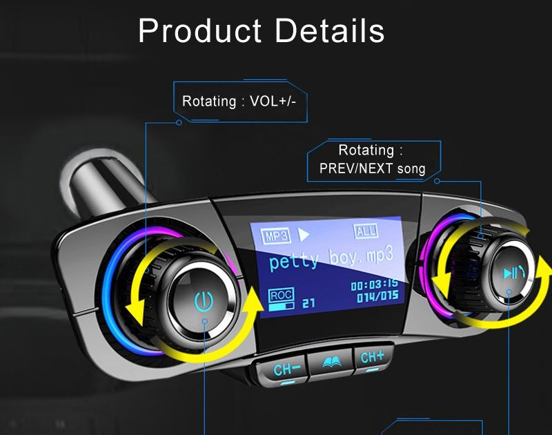 cheapest jinserta fm transmitter aux modulator bluetooth handsfreecheapest jinserta fm transmitter aux modulator bluetooth handsfree car kit car audio mp3 player with smart charge dual usb car charger