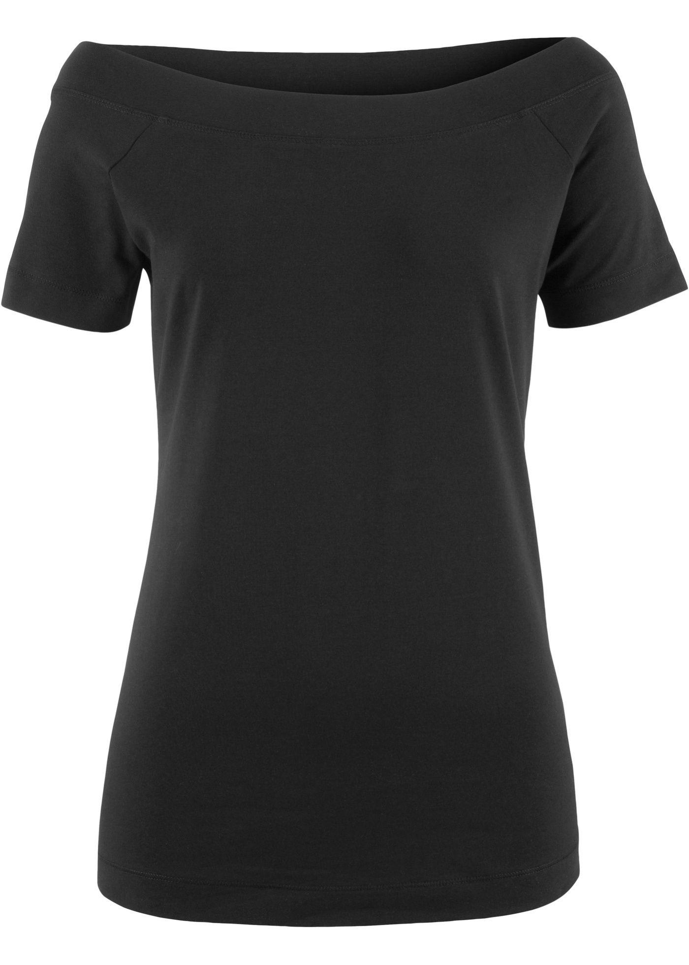 Shirt mit U-Boot Ausschnitt und 1/2-Arm in 2019   Products